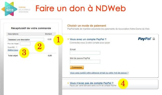 Aider notre dame du web notre dame du web - Paypal paiement en plusieurs fois ...