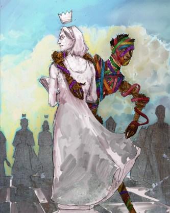 Illustration for Mark Teppo's Harry Potemkin Mosaic