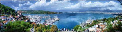Fethiye Panorama door Said Nuri