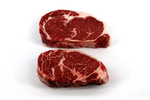 Medium Of Beef Rib Steak