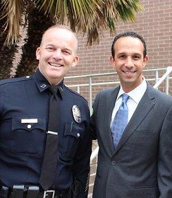 Welcome Captain III Brian Pratt to LAPD Devonshire Division