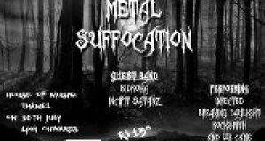 Metal Suffocation Gig