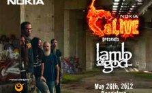 lamb of god india tour 2012