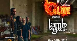 Lamb Of God India Tour 2012