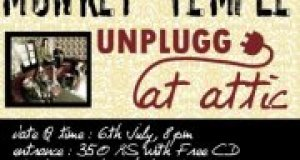 Monkey Temple Unplugged @ Attic Bar