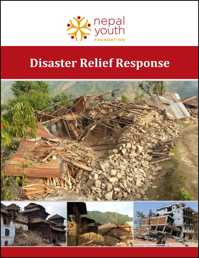 NYF Disaster Relief Response update as of June 1, 2015