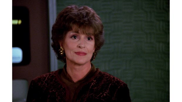 When she wasn't busy playing Lwaxana Troi, the late great Majel Barrett-Roddenberry voiced the ship's computer. Still better than Siri by miles