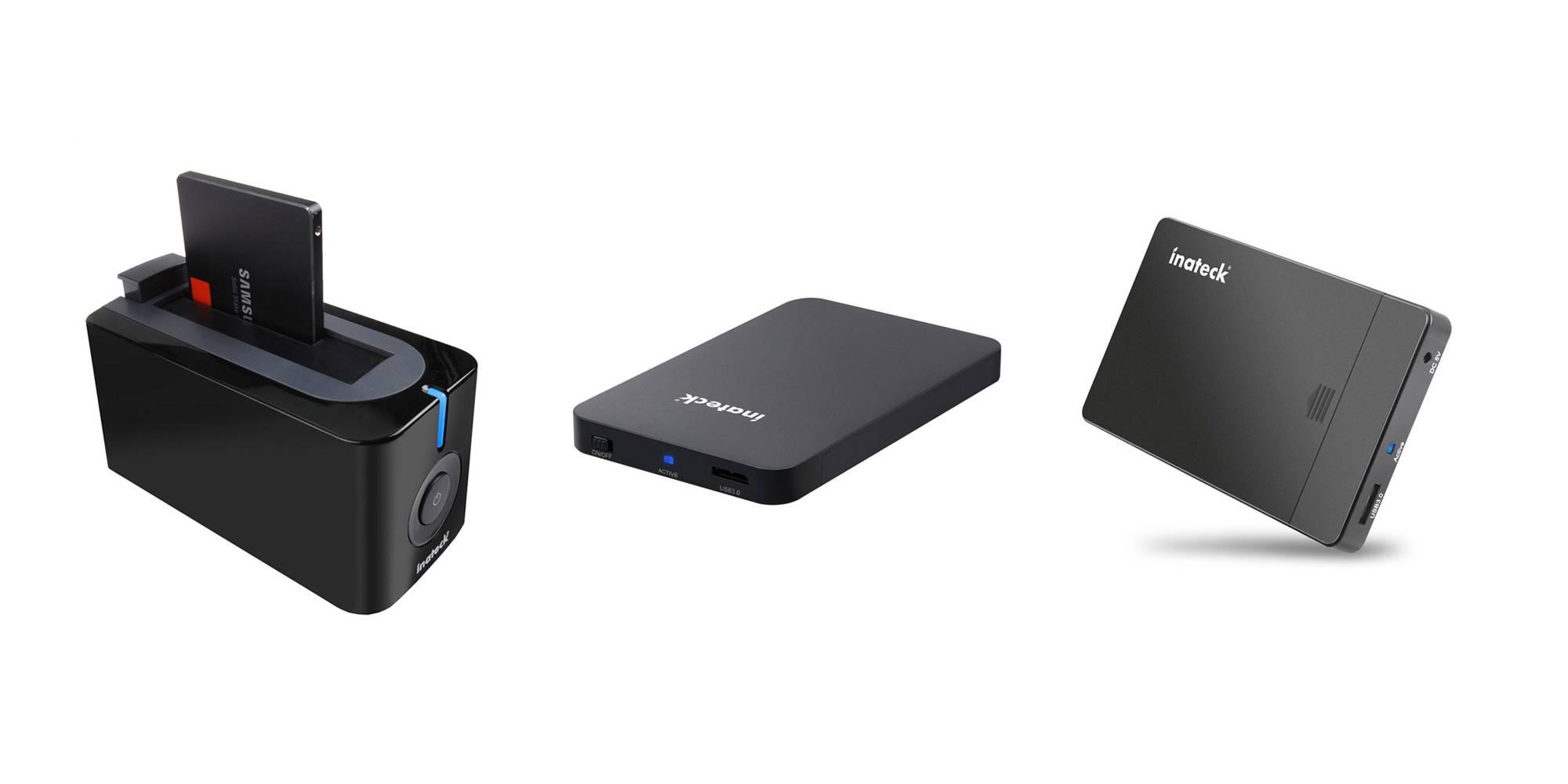 Accessori Inateck per il collegamento di HDD ed SSD via USB 3.0 in offerta con codice
