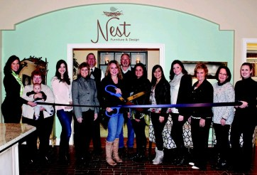 nest ribbon cutting