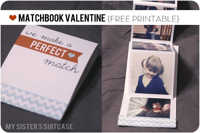 Matchbook Valentines using Instagram Photos