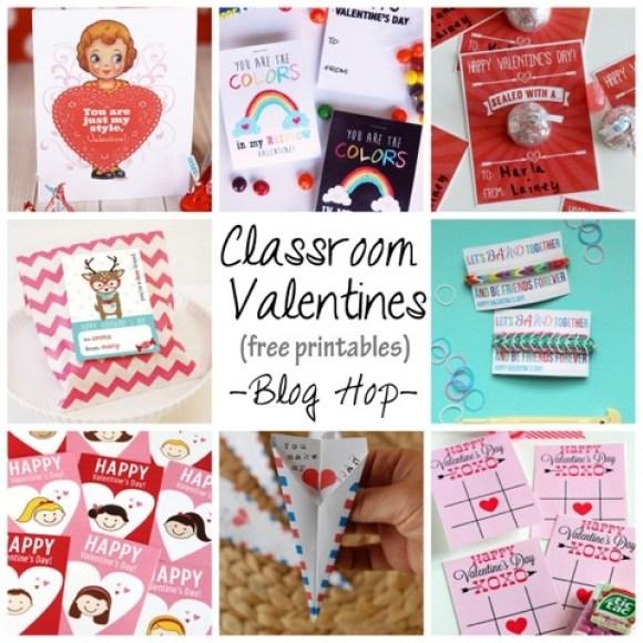 free Classroom Printables - blog hop