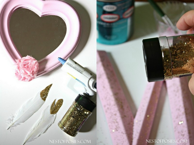 Adding Pink and Pixie Dust to a Little Girl's Room Decor