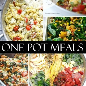 One Pot Skillet Meals that are easy and delish!