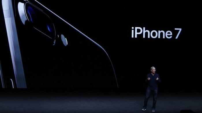 Lanzamiento iPhone 7