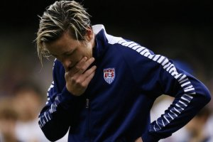 """I promise that I will do whatever it takes to ensure that my horrible mistake is never repeated"". Why Abby Wambach- the leading career scorer in International Soccer said this?"