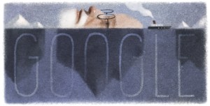 "The 160th Birthday of Sigmund Freud in trending is celebrated by Goggle Doodle by ""Murky Depths of the Unconscious Mind"""