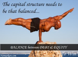 Optimal Capital Structure for a Company that works
