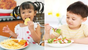 How can I help my children develop healthy eating habits?