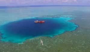 The Blue Hole Located in South China Sea Declared to be the deepest in the world!