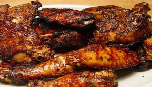 Delicious Grilled Chicken with Cilantro-Yogurt Dipping Sauce and Jerk chicken Recipe