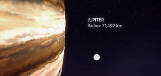 Jupiter-terre