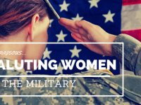 Saluting Women in the Military