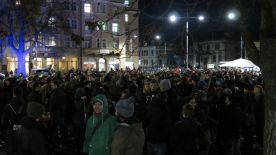 """""""Dresden-Nazifrei""""-Demo am Bahnhof Neustadt"""