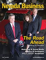 Nevada Business Magazine April 2010 Issue