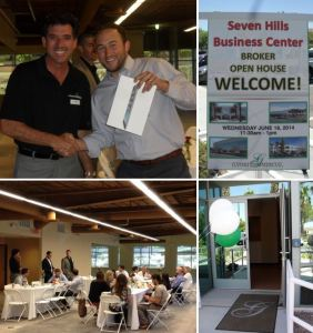 Gatski Commercial invited Southern Nevada commercial real estate brokers to tour the newly renovated speculative suites at the Seven Hills Business Center.