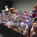 Matt Smith Physical Therapy Collects More Than 300 Toys for Light of the World Childhood Cancer Foundation