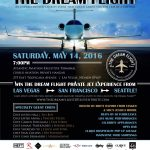 The Dream Flight Launches Event to Benefit Miracle Flights and Nevada Partnership for Homeless Youth, May 14