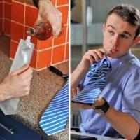 Secret Flask Tie
