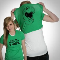 Ask Me About My T-Rex Shirt