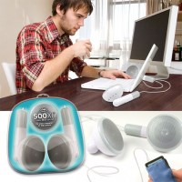 Giant iPod Earbuds