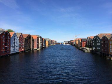 Speicherhäuser Trondheim