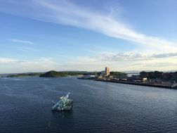 Blick von der Oper Oslo