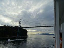 Hafenausfahrt Vancouver