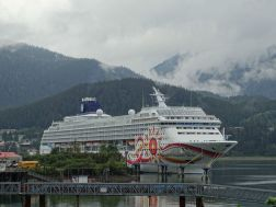 Norwegian Sun in Juneau