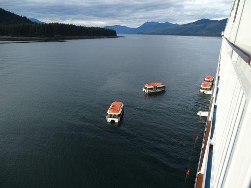 Tendern Icy Strait Point