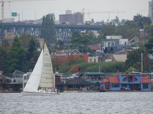 Hausboot-Siedlung Lake Union