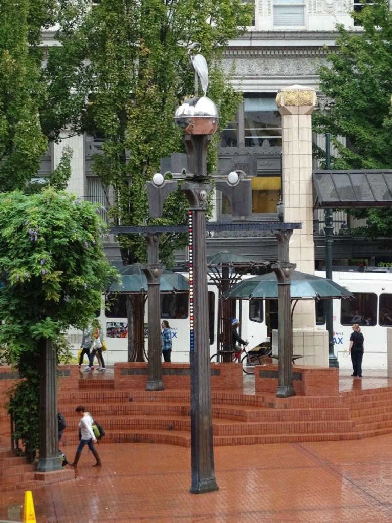 Wettermaschine Pioneer Square