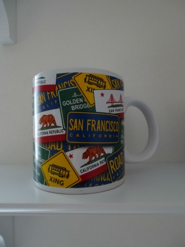 Kalifornien Roadtrip Tasse