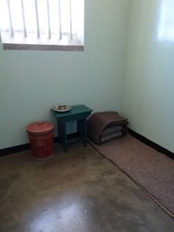 Nelson Mandelas Gefängniszelle