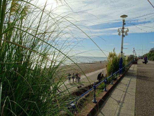 Die Promenade in Eastbourne