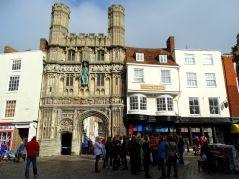Eingang zur Kathedrale von Canterbury