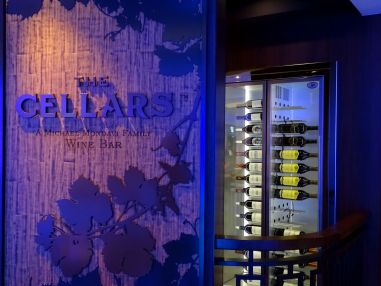 The Cellars - Weinbar auf der Norwegian Escape