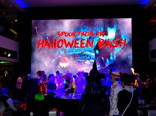 Halloween auf der Norwegian Escape