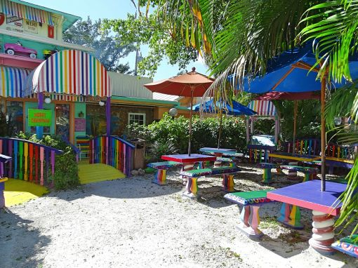 The Bubble Room auf Captiva Island