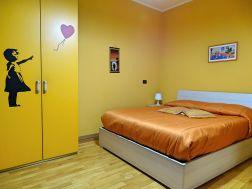 Zimmer Orange im B&B Al Centro Di Genova
