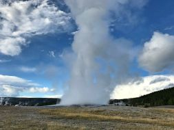 Old Faithful Geysir, Yellowstone Nationalpark
